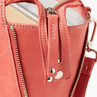 Roots-Women Leather-Arianna Bag Tribe-Coral-E