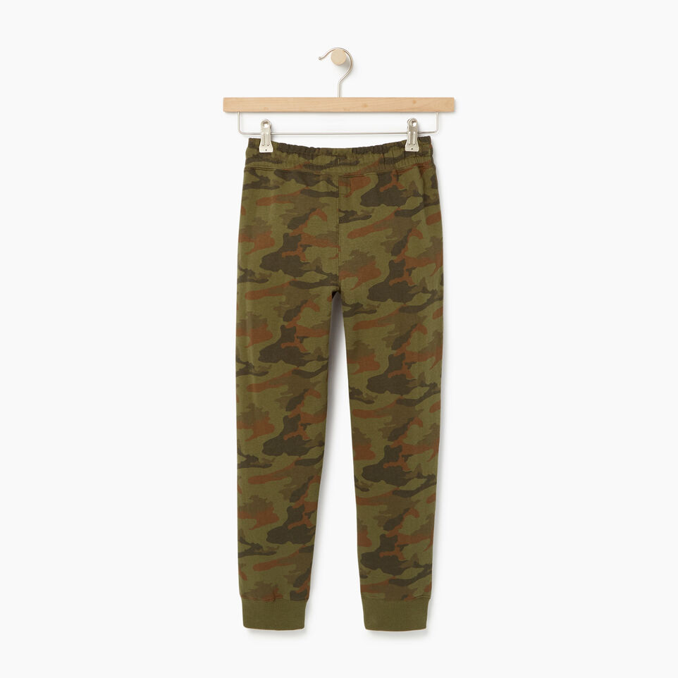 Roots-Kids New Arrivals-Boys Camo Sweatpant-Winter Moss Green-B