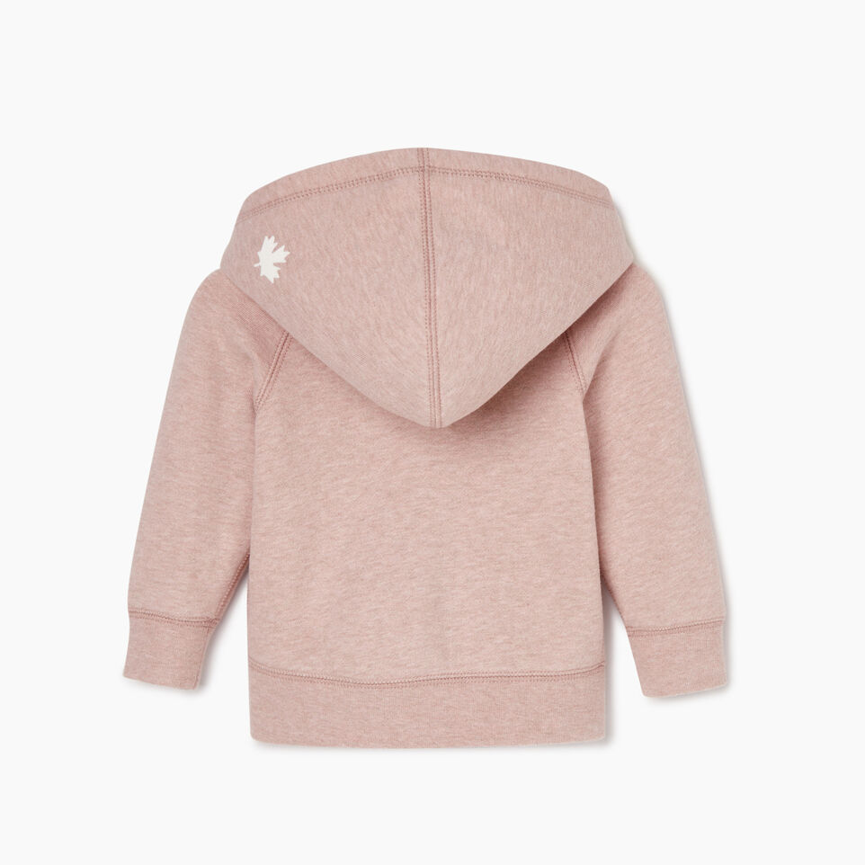 Roots-Kids Our Favourite New Arrivals-Baby Original Full Zip Hoody-Deauville Mauve Mix-B