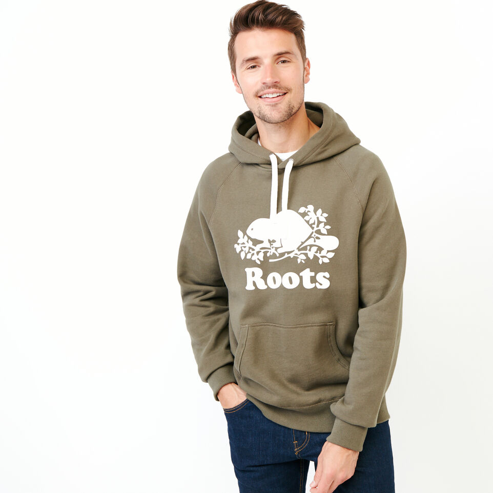 Roots-Men Our Favourite New Arrivals-Original Kanga Hoody-Fatigue-A
