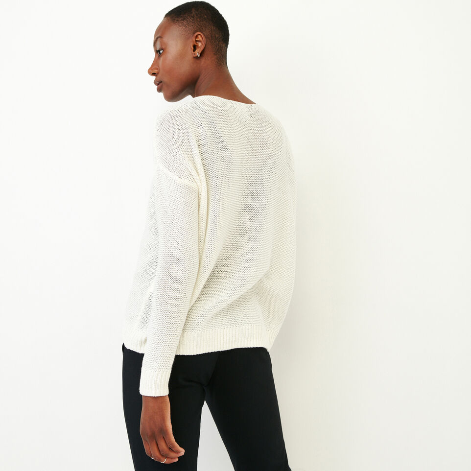 Roots-Women Our Favourite New Arrivals-Hillsview Pullover Sweater-Ivory-D