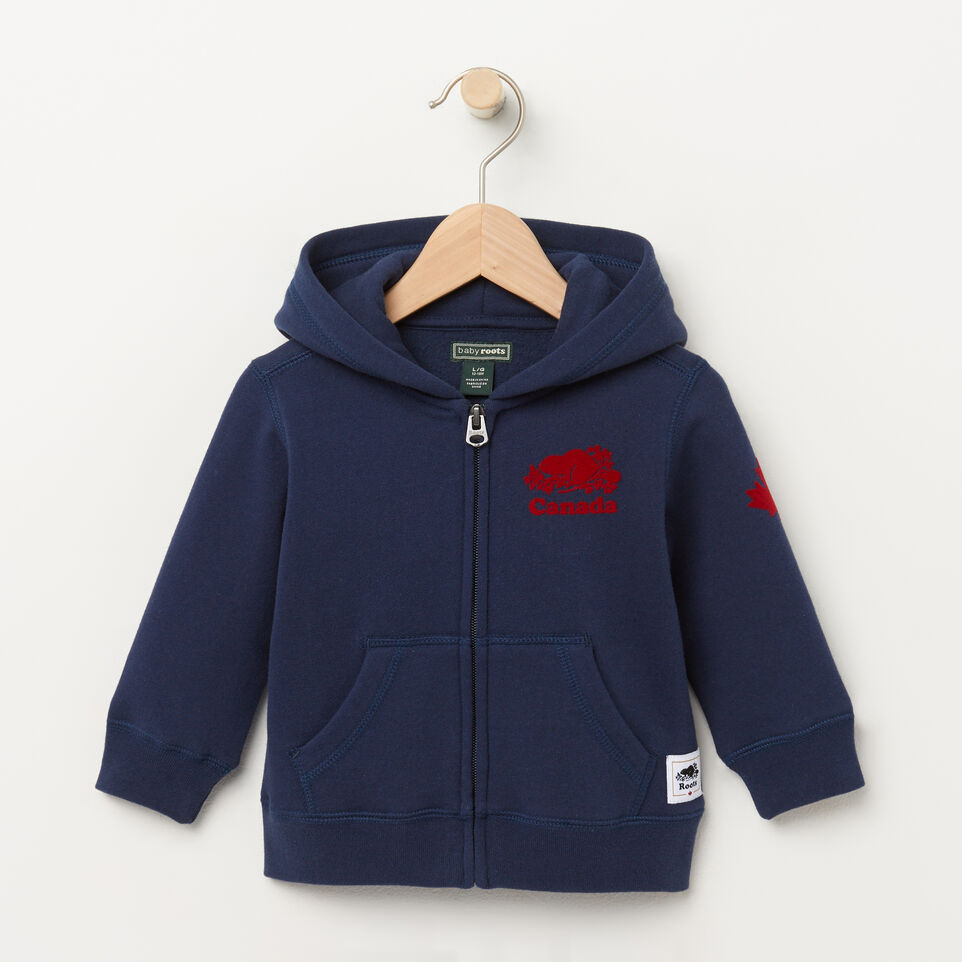 Roots-undefined-Baby Canada Full Zip Hoody-undefined-A