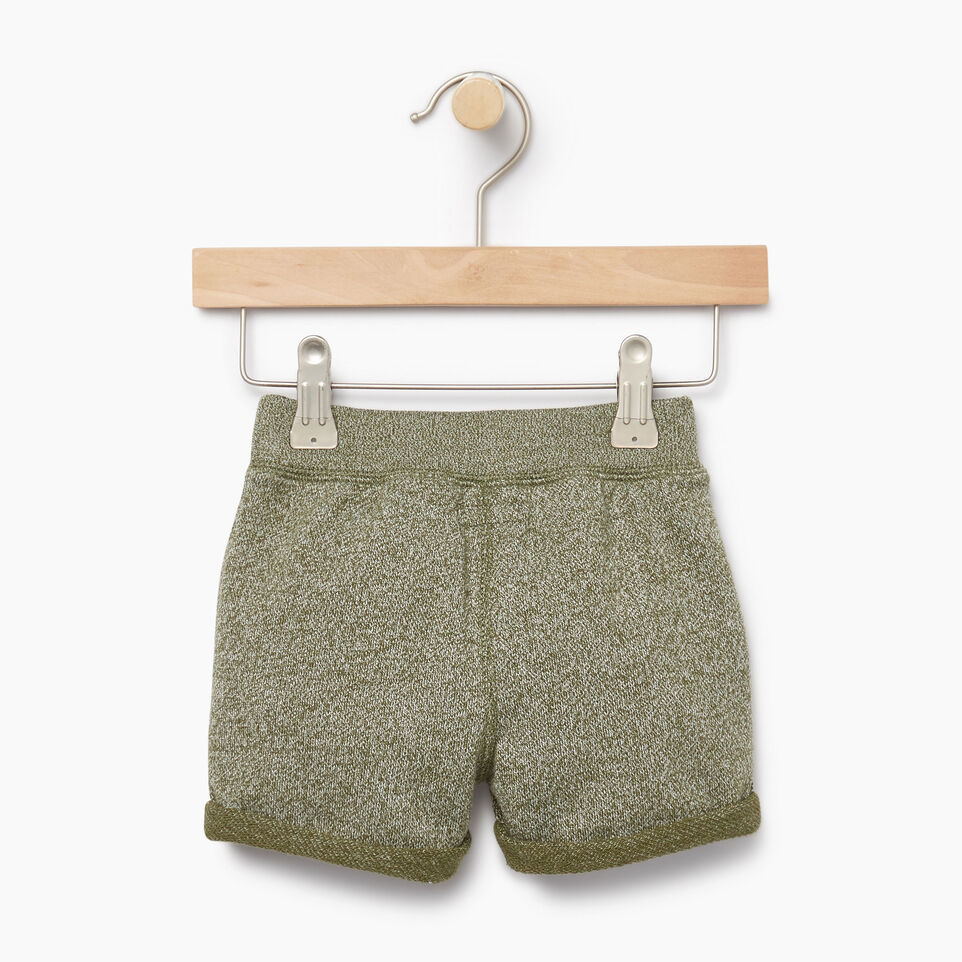 Roots-Kids Our Favourite New Arrivals-Baby Park Short-Winter Moss Pepper-B