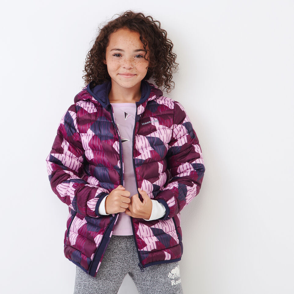 Roots-undefined-Girls Roots Camo Puffer Jacket-undefined-A
