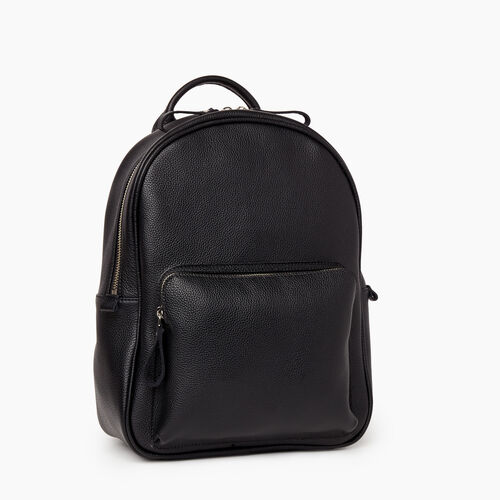 Roots-Women Leather-Chelsea Pack Cervino-Black-A