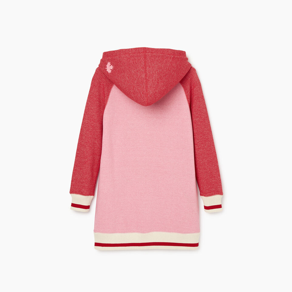Roots-New For November Kids-Girls Roots Cabin Cozy Dress-Cashmere Rose Pepper-C