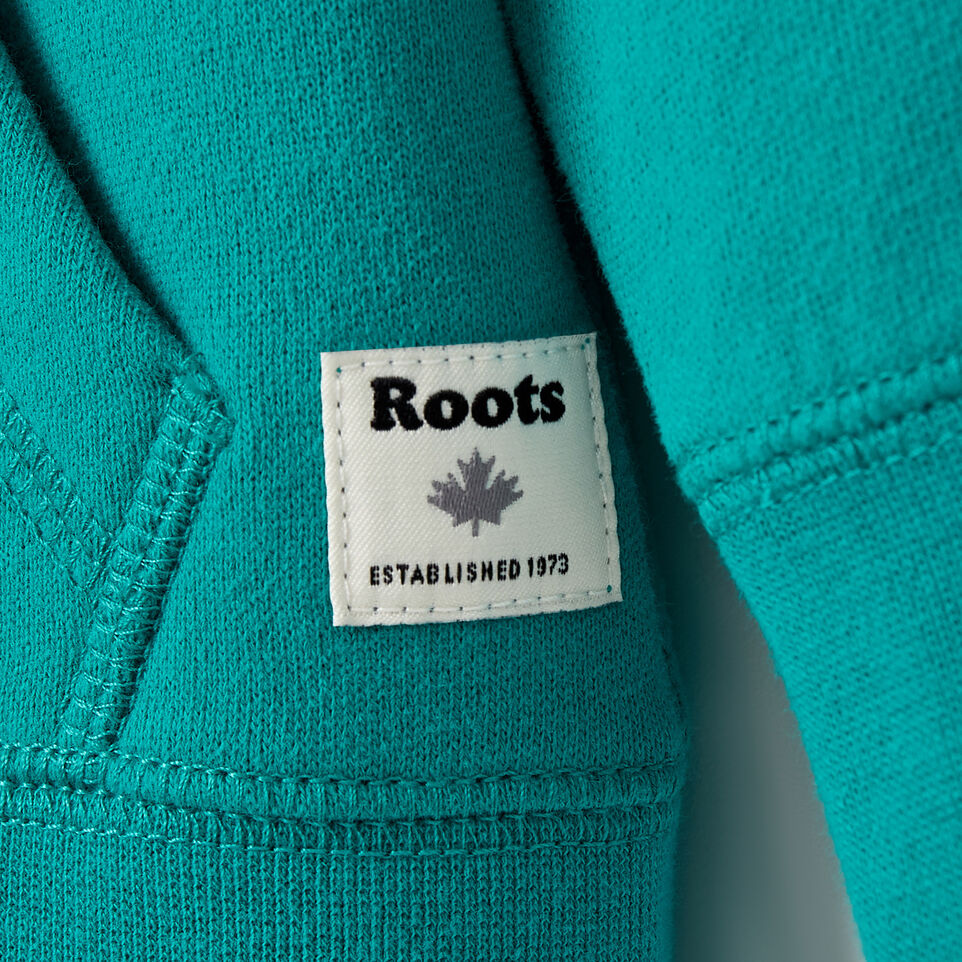 Roots-Sale Baby-Baby Original Full Zip Hoody-Dynasty Turquoise-C