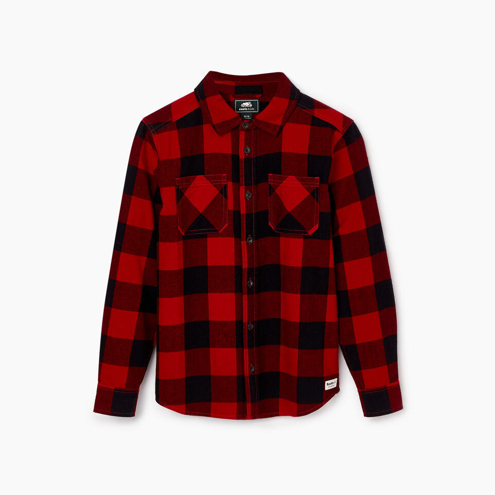 Roots-undefined-Boys Park Plaid Shirt-undefined-B