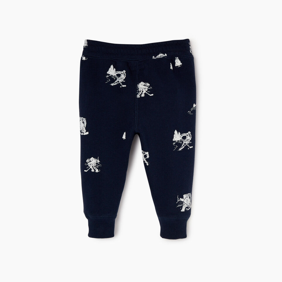Roots-undefined-Baby Hockey Aop Sweatpant-undefined-B
