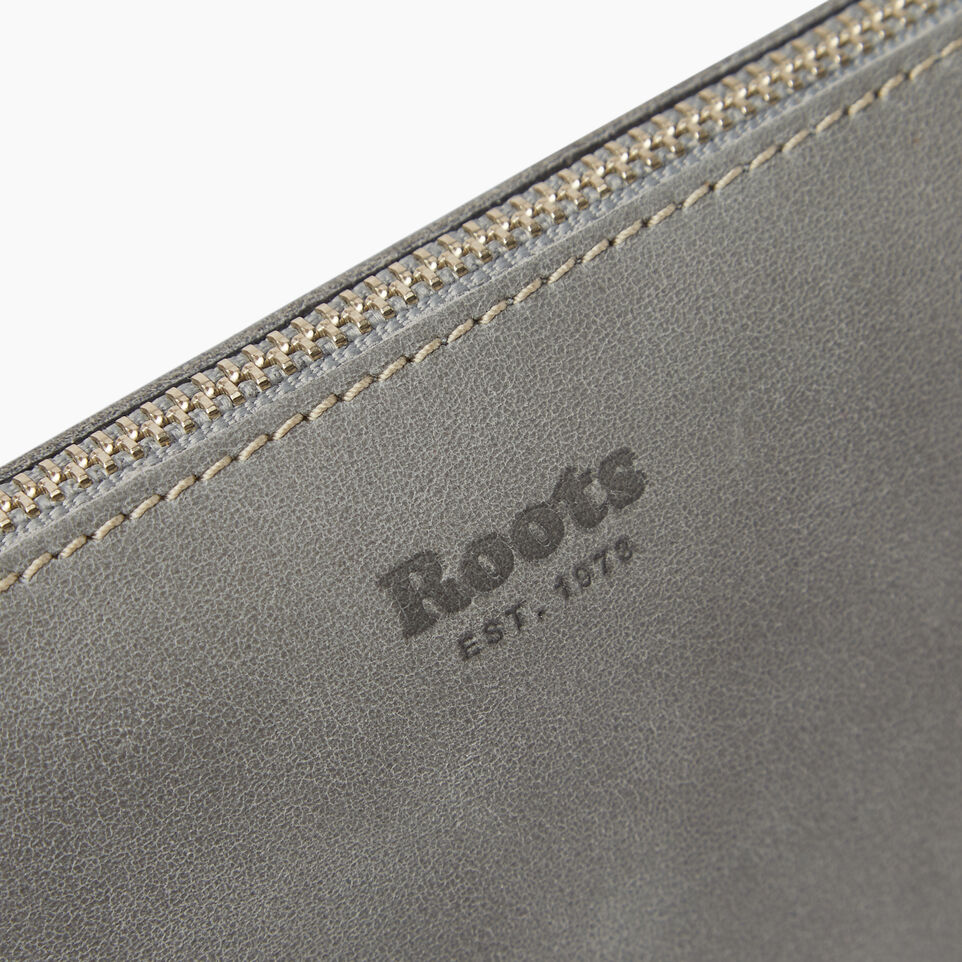 Roots-Leather Our Favourite New Arrivals-Wristlet Pouch-undefined-E