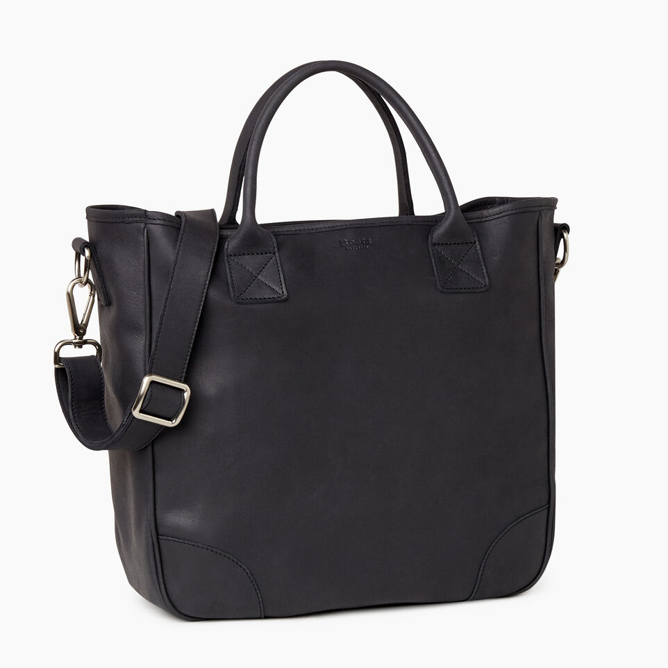 Roots-Leather Our Favourite New Arrivals-Jasper Tote-Jet Black-C