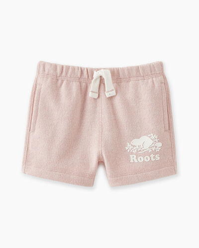 Roots-Sweats Baby-Baby Original Roots Short-Pale Mauve Pepper-A