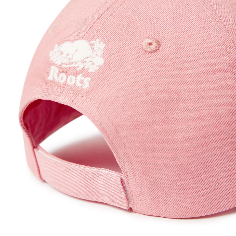 Roots-Kids Our Favourite New Arrivals-Kids Canada Baseball Cap-Pink-E
