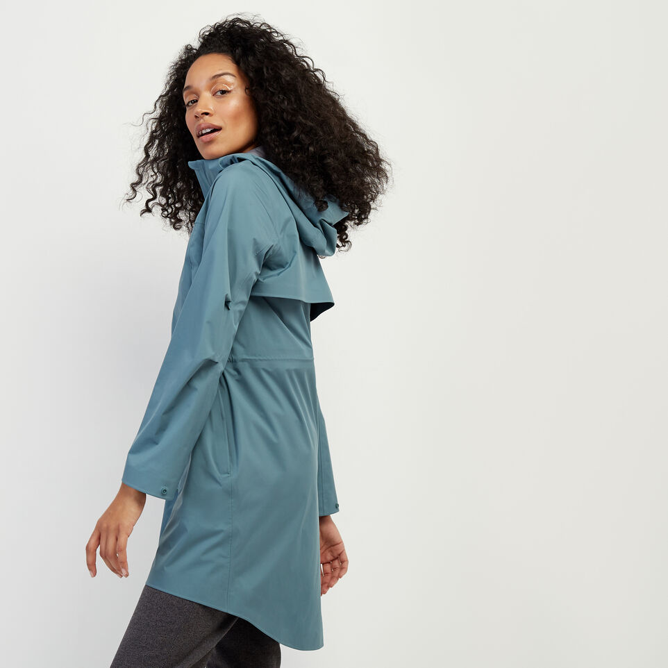Roots-New For February Journey Collection-Journey Rain Jacket-North Atlantic-C