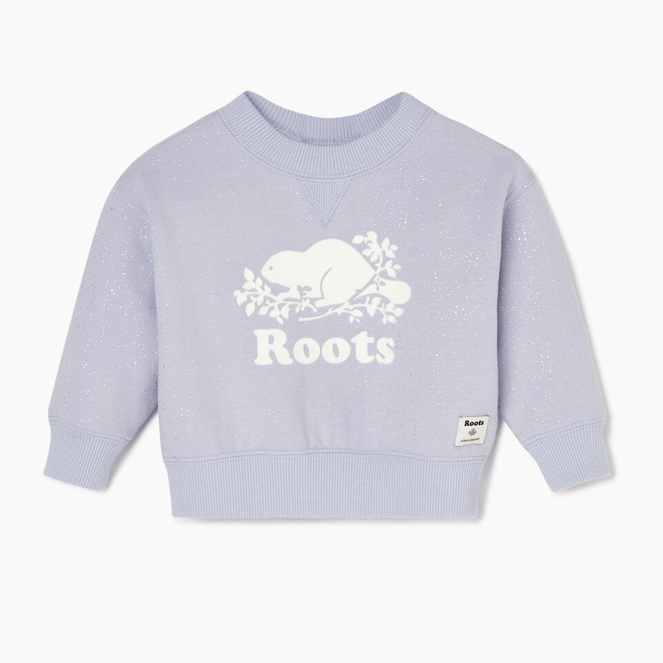 Roots-Sale Baby-Baby Sparkle Cozy Sweatshirt-Cosmic Sky-A