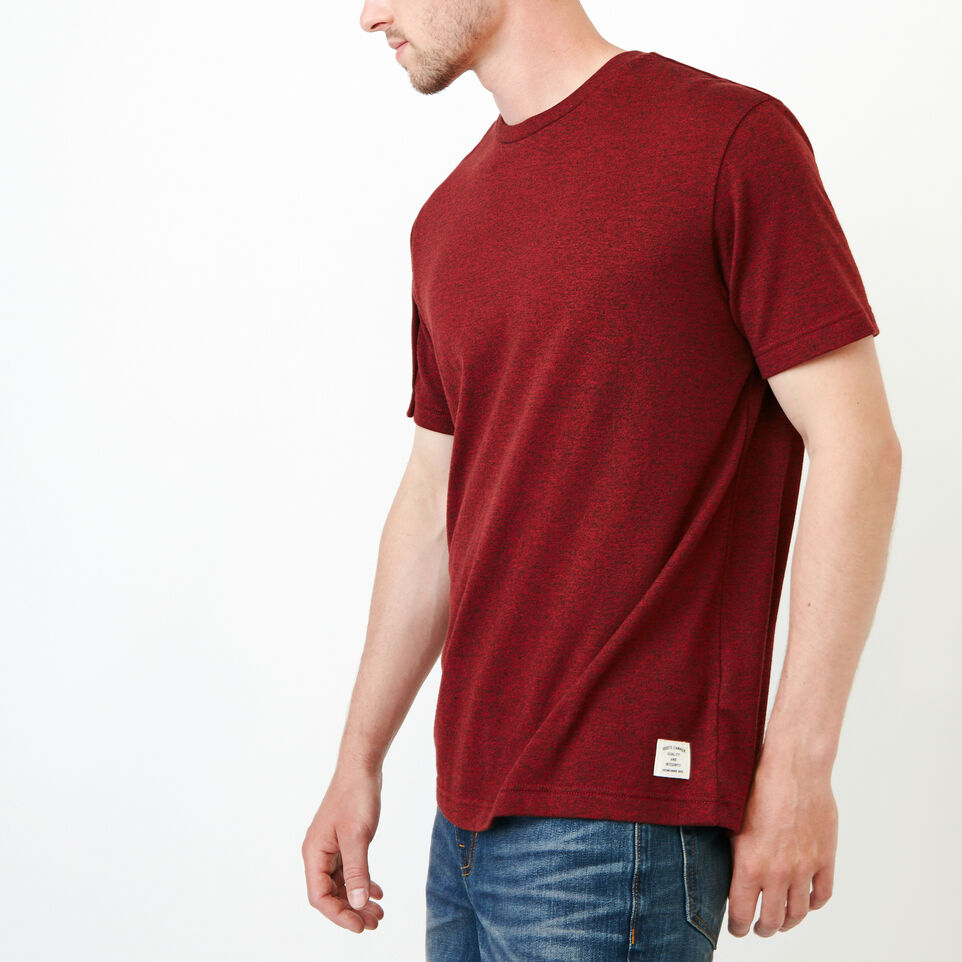Roots-Men Our Favourite New Arrivals-Perfect Pepper T-shirt-Sundried Tomato Ppr-C
