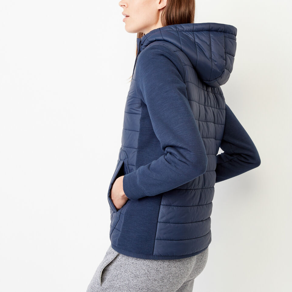 Roots-Women Our Favourite New Arrivals-Roots Hybrid Hoody Jacket-Navy Blazer-C