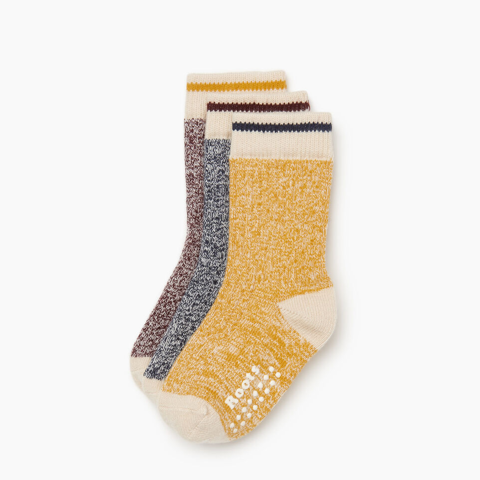 Roots-Kids New Arrivals-Toddler Cabin Sock 3 pack-Navy-B