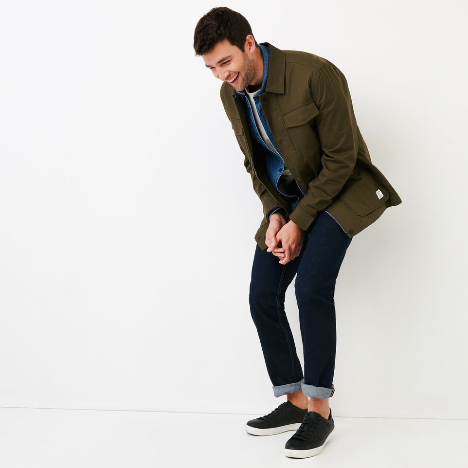 Roots-Men Our Favourite New Arrivals-Jasper Field Jacket-Fatigue-B