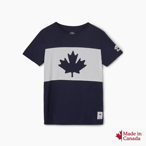 Roots-New For August Canada Collection By Roots™-Womens Blazon T-shirt-Navy Blazer-A