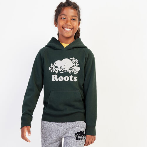Roots-Gifts Gifts For Kids-Boys Original Kanga Hoody-Park Green-A