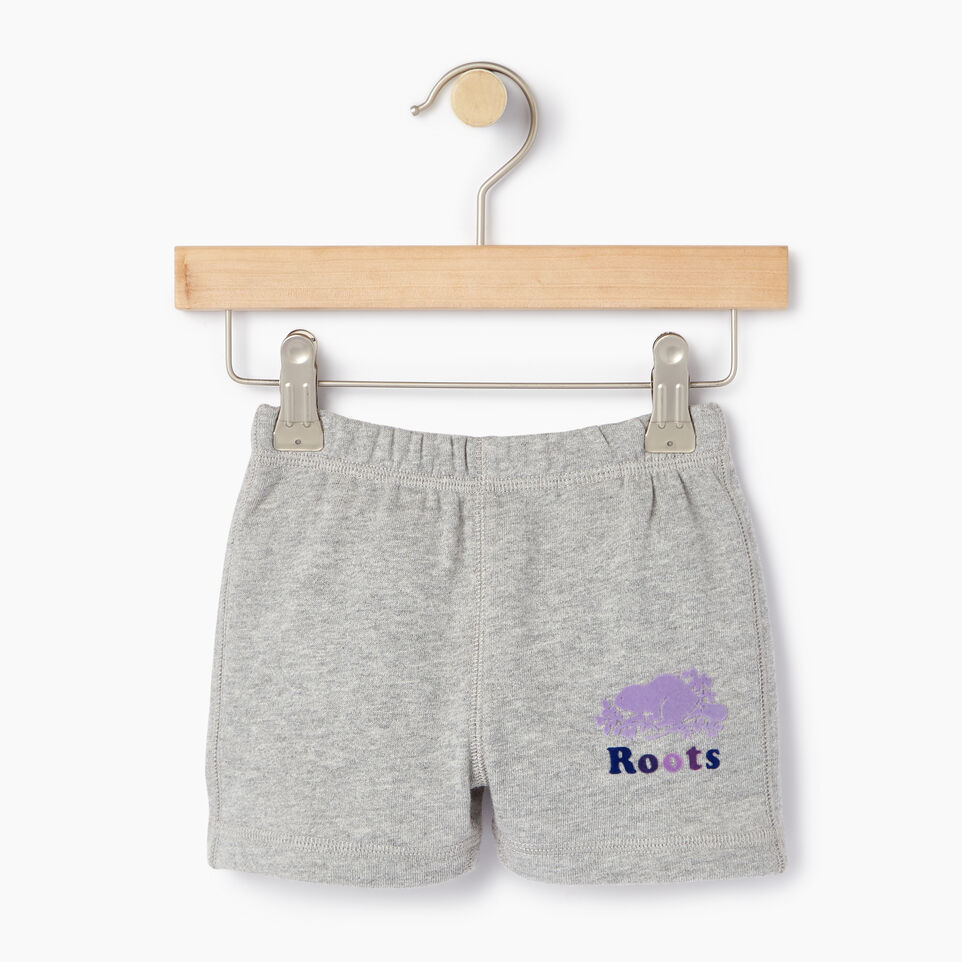 Roots-Sale Kids-Baby Original Roots Short-Grey Mix-A