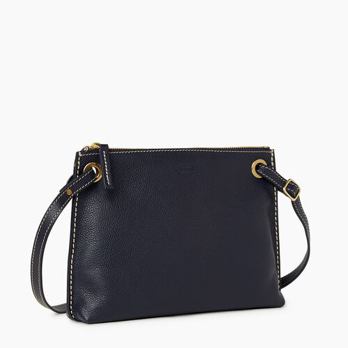 Roots-Leather Bestsellers-Edie Bag Cervino-Navy-A
