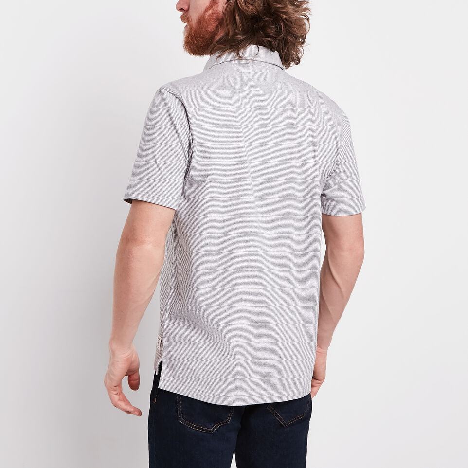 Roots-undefined-Striped Jersey Polo-undefined-D