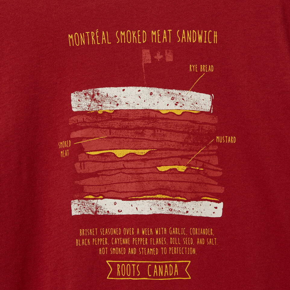 Roots-undefined-Boys Smoked Meat T-shirt-undefined-C