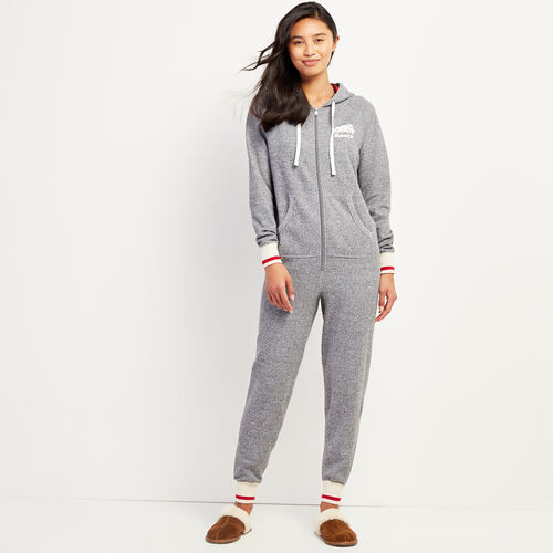 Roots-Gifts Cabin Comfort-Roots Cabin Onesie-Salt & Pepper-A