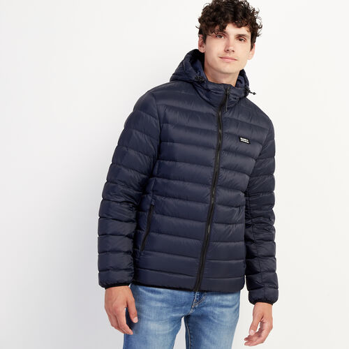 Roots-New For November Packable Jackets-Roots Packable Down Jacket-Navy Blazer-A