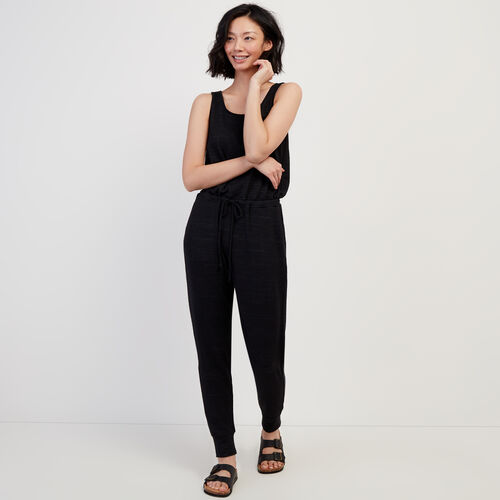 Roots-Women Dresses & Jumpsuits-Tofino Onesie-Black-A