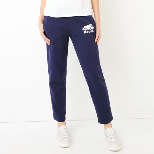 Roots-Women Bestsellers-Easy Ankle Sweatpant-Eclipse-A