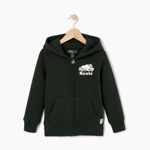 Roots-Kids Our Favourite New Arrivals-Toddler Original Full Zip Hoody-Park Green-A