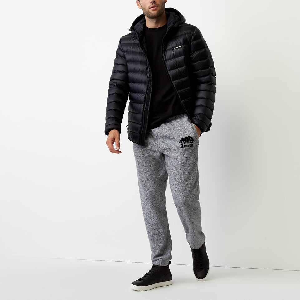 Roots-undefined-Roots Salt and Pepper Original Sweatpant - Short-undefined-B
