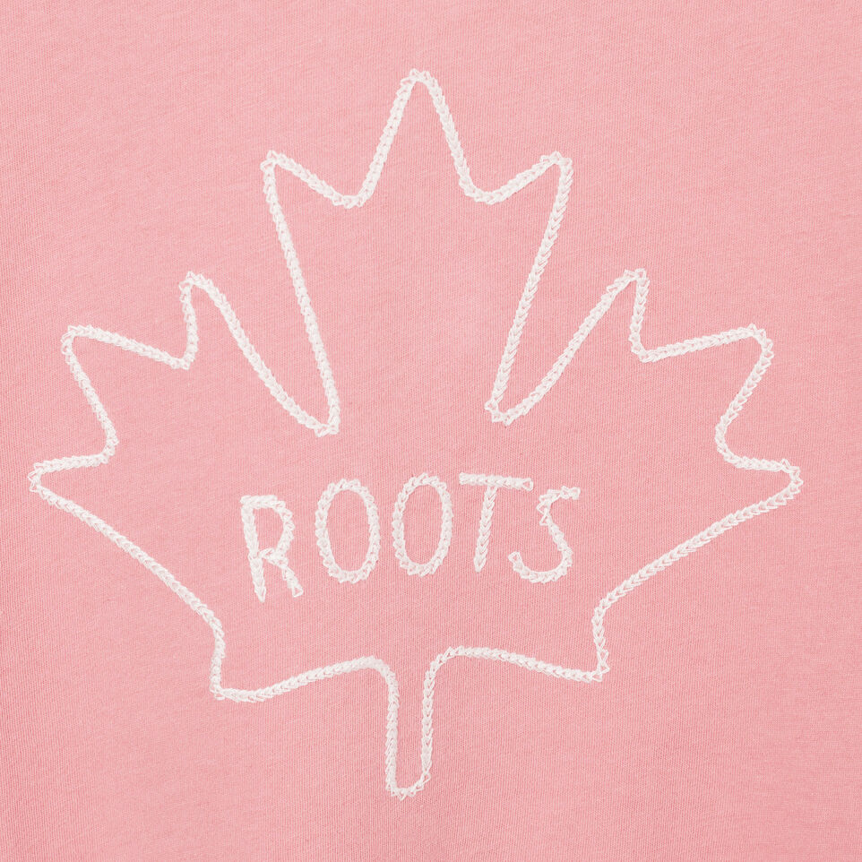 Roots-undefined-Womens Maple T-shirt-undefined-D