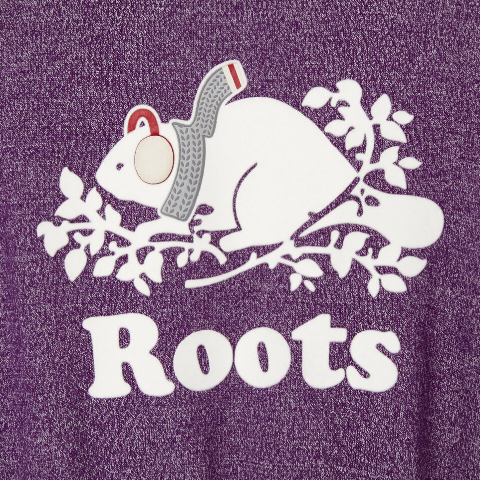 Roots-Kids Categories-Girls Buddy Cozy Fleece Dress-Grape Royale Pepper-C