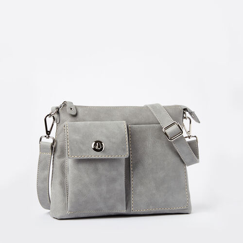Roots Leather Handbags The Villager Tribe Quartz A