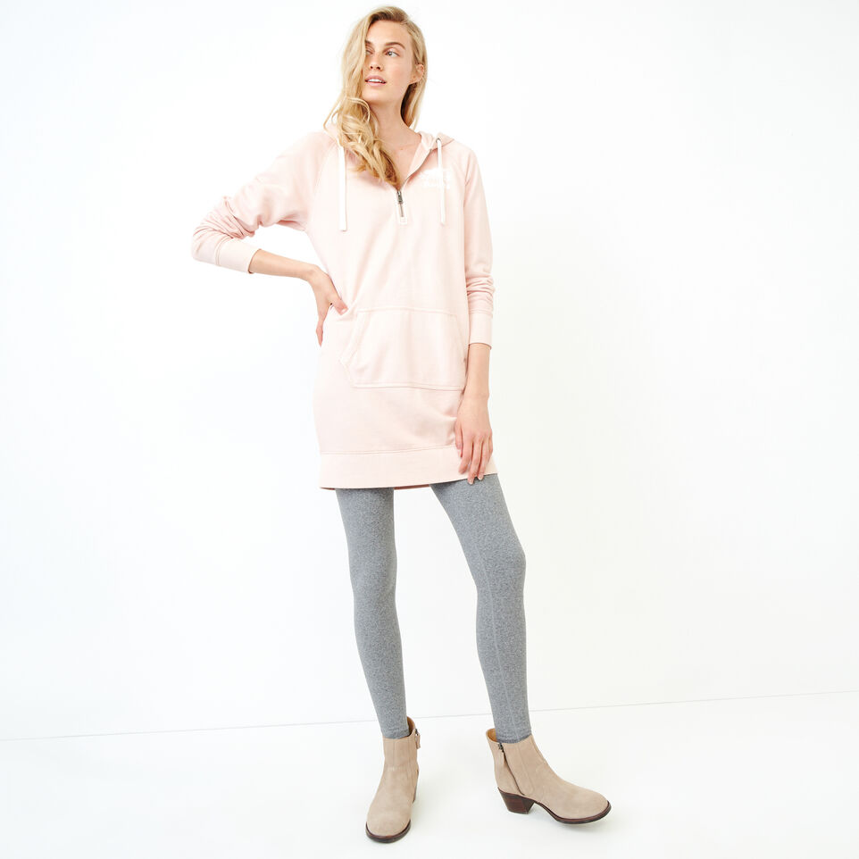 Roots-Women Our Favourite New Arrivals-Garment Dyed Dockside Dress-Pink-B
