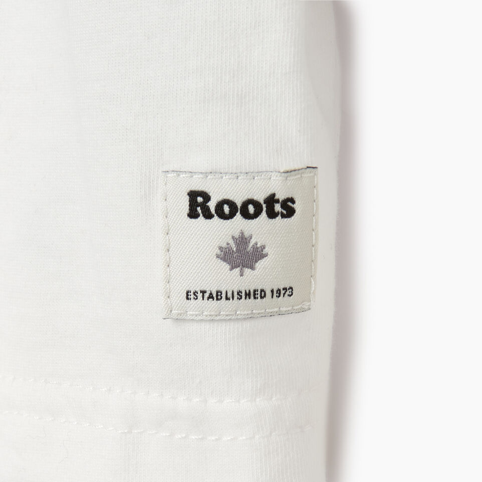 Roots-Sale Kids-Toddler Roots Hockey T-shirt-Ivory-D