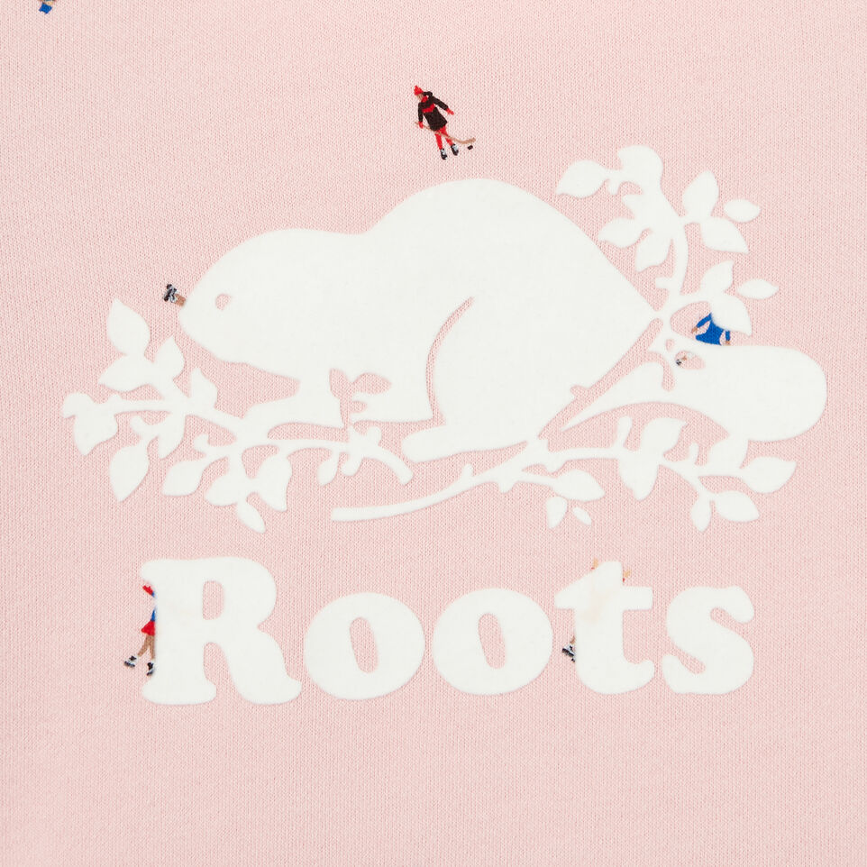 Roots-Kids Our Favourite New Arrivals-Girls Skater Kanga Hoody-Light Pink-C