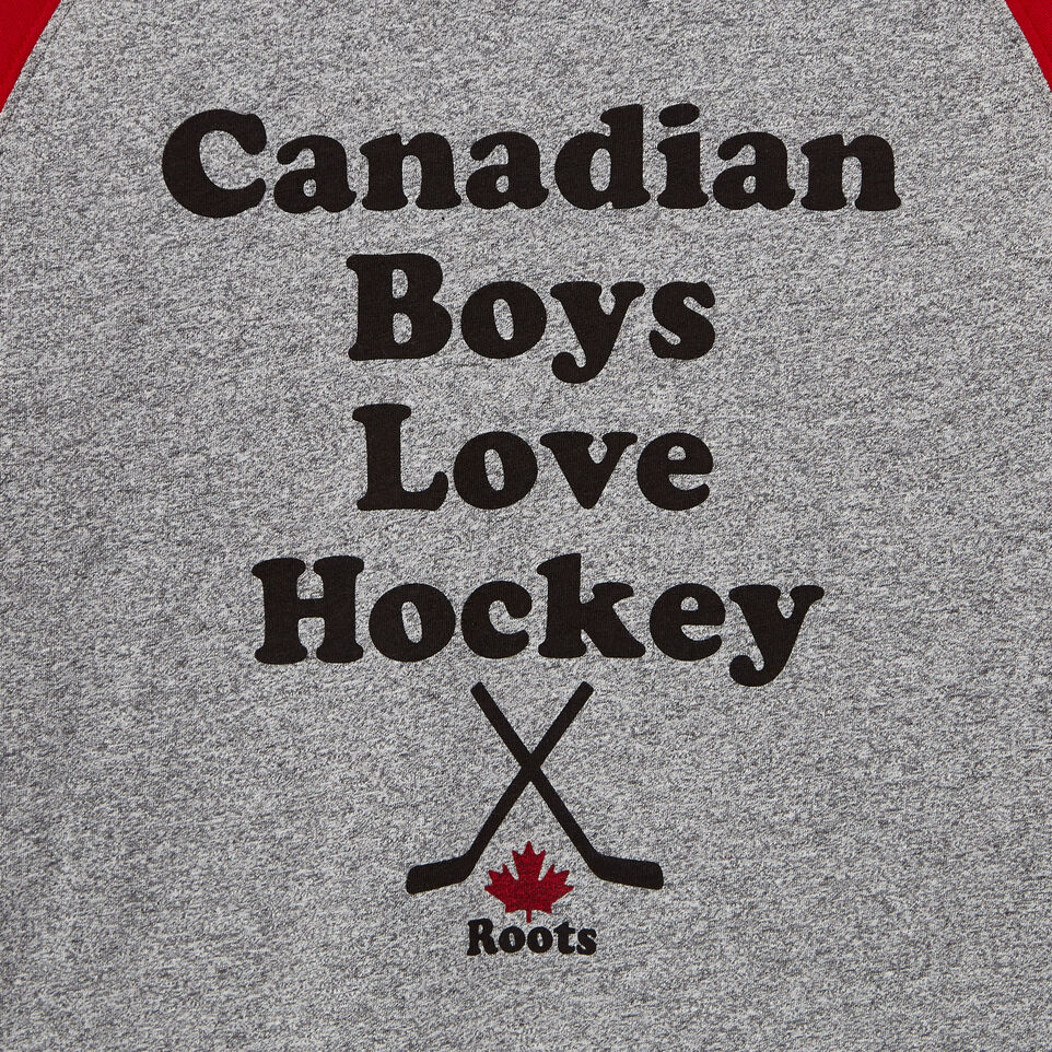 Roots-undefined-T-shirt Hockey pour garçons-undefined-D