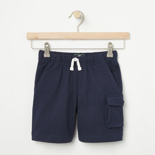 Roots-Sale Boys-Boys Camp Short-Cascade Blue-A