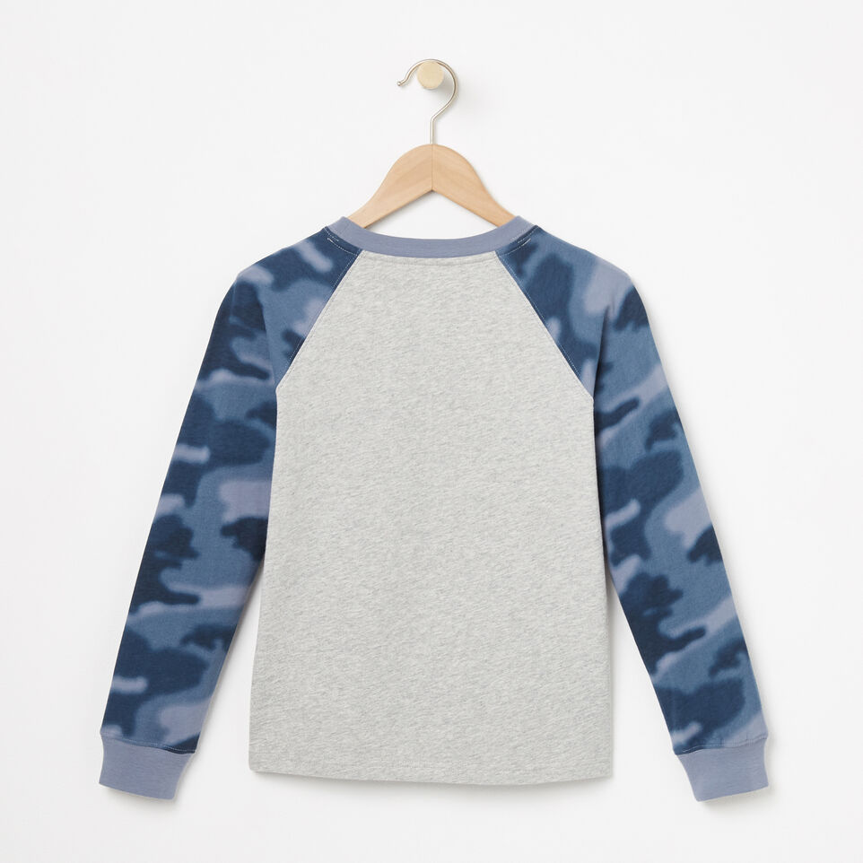 Roots-undefined-Boys Blurred Camo Top-undefined-B