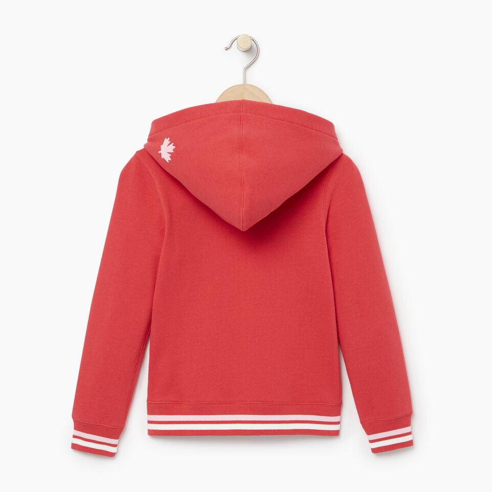 Roots-Kids Categories-Girls Alumni Full Zip Hoody-Chrysanthemum-B