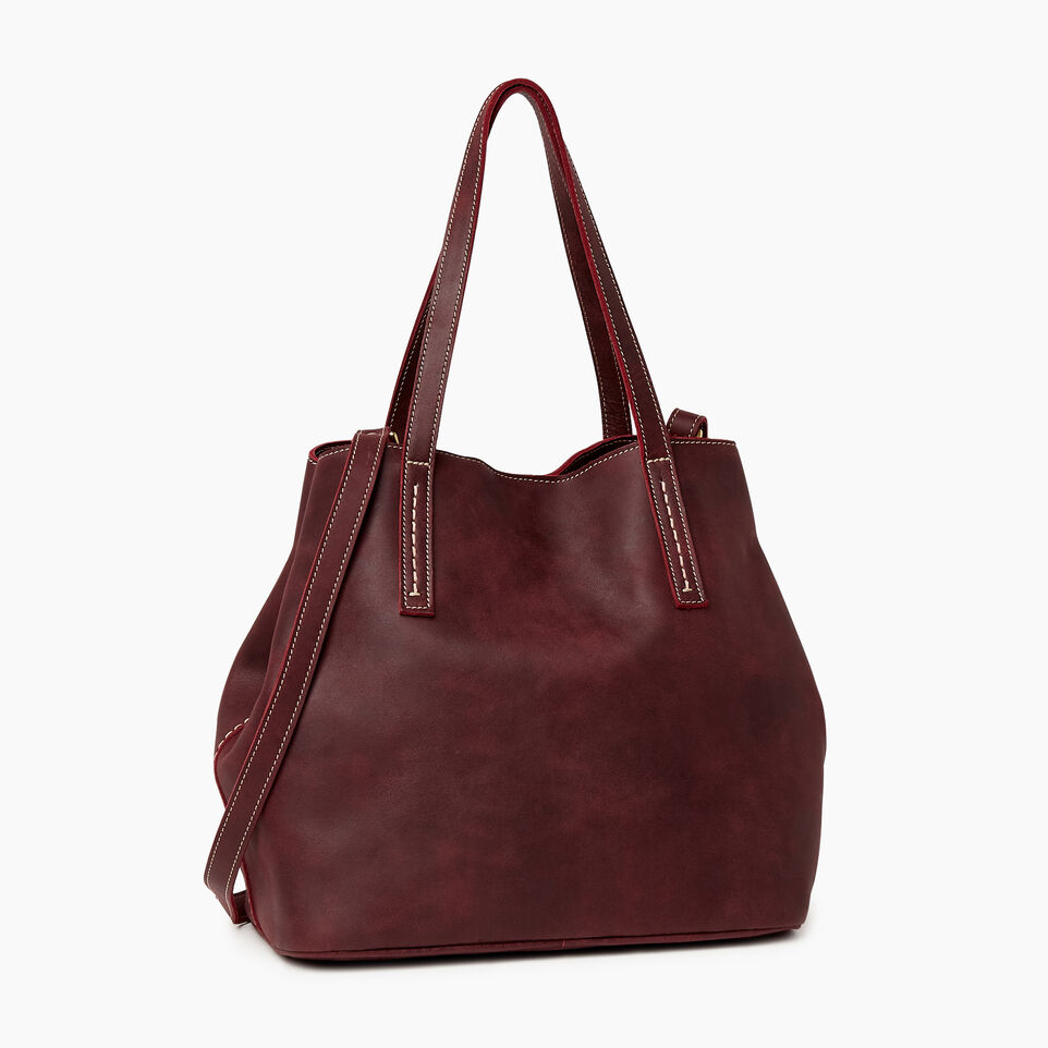Roots-Leather Our Favourite New Arrivals-Amelia Tote-Crimson-C