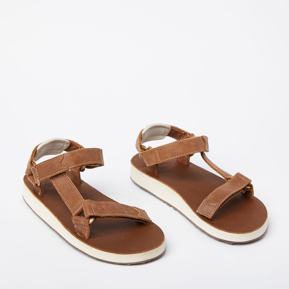 Roots-undefined-Womens Tofino Sandal Leather-undefined-B
