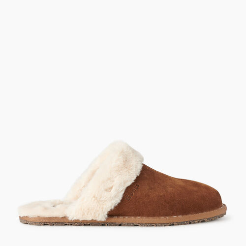 Roots-Footwear New Arrivals-Womens Mule Slipper-Natural-A