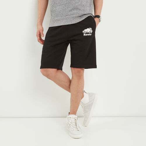 Roots-Men Shorts-Original Terry Short-Black-A