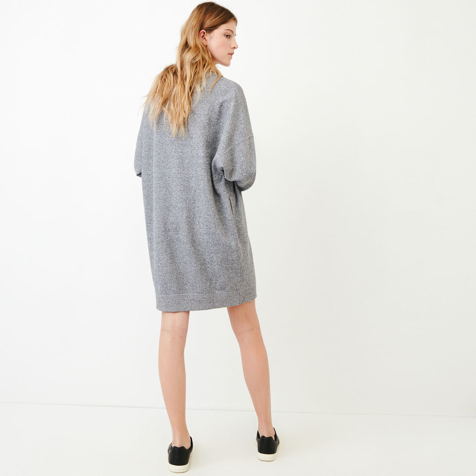 Roots-undefined-Roots Salt and Pepper Oversized Dress-undefined-D